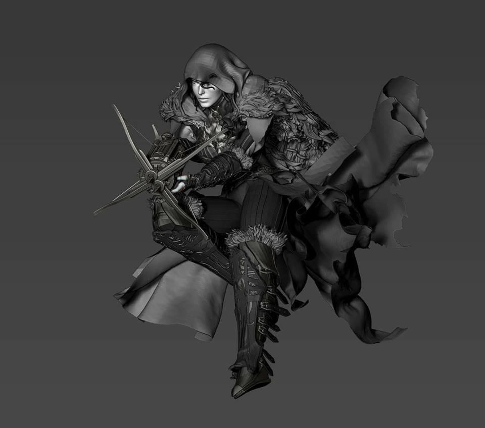 Premium collectibles : Witch Huntress** 18194711_186057750416nru57