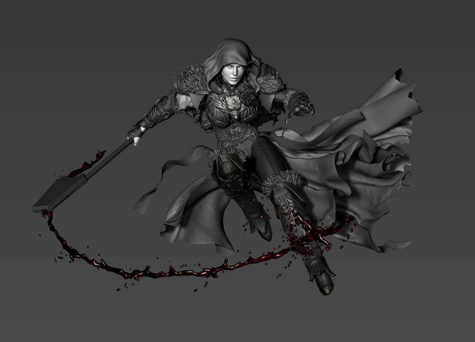 Premium collectibles : Witch Huntress** 18198430_1860577624167bun0