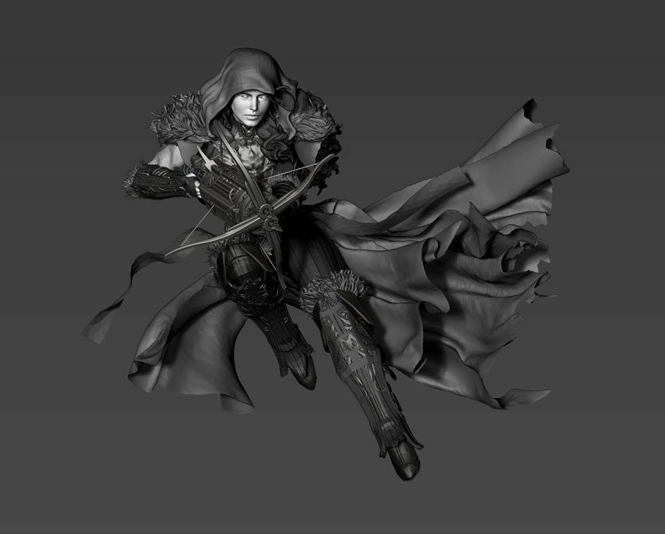 Premium collectibles : Witch Huntress** 18301356_186057754082k3ulc