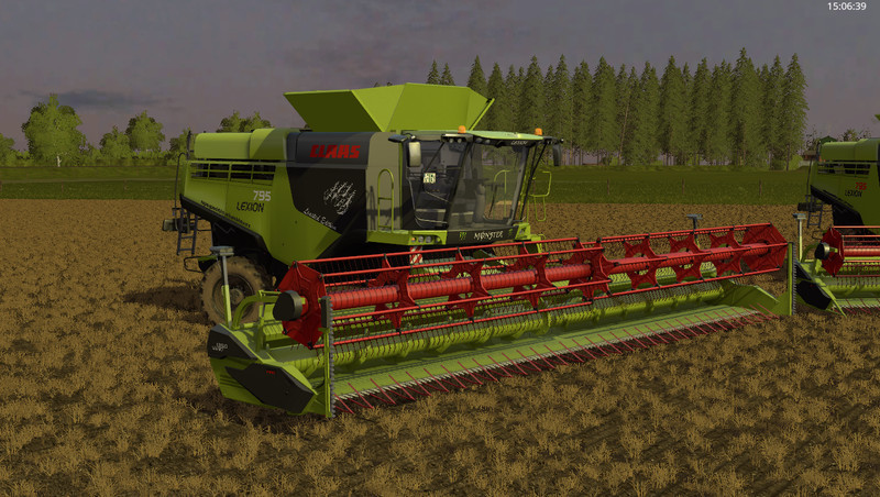 ls17 claas lexion 795 monster edition v 1 0 claas cat. Black Bedroom Furniture Sets. Home Design Ideas