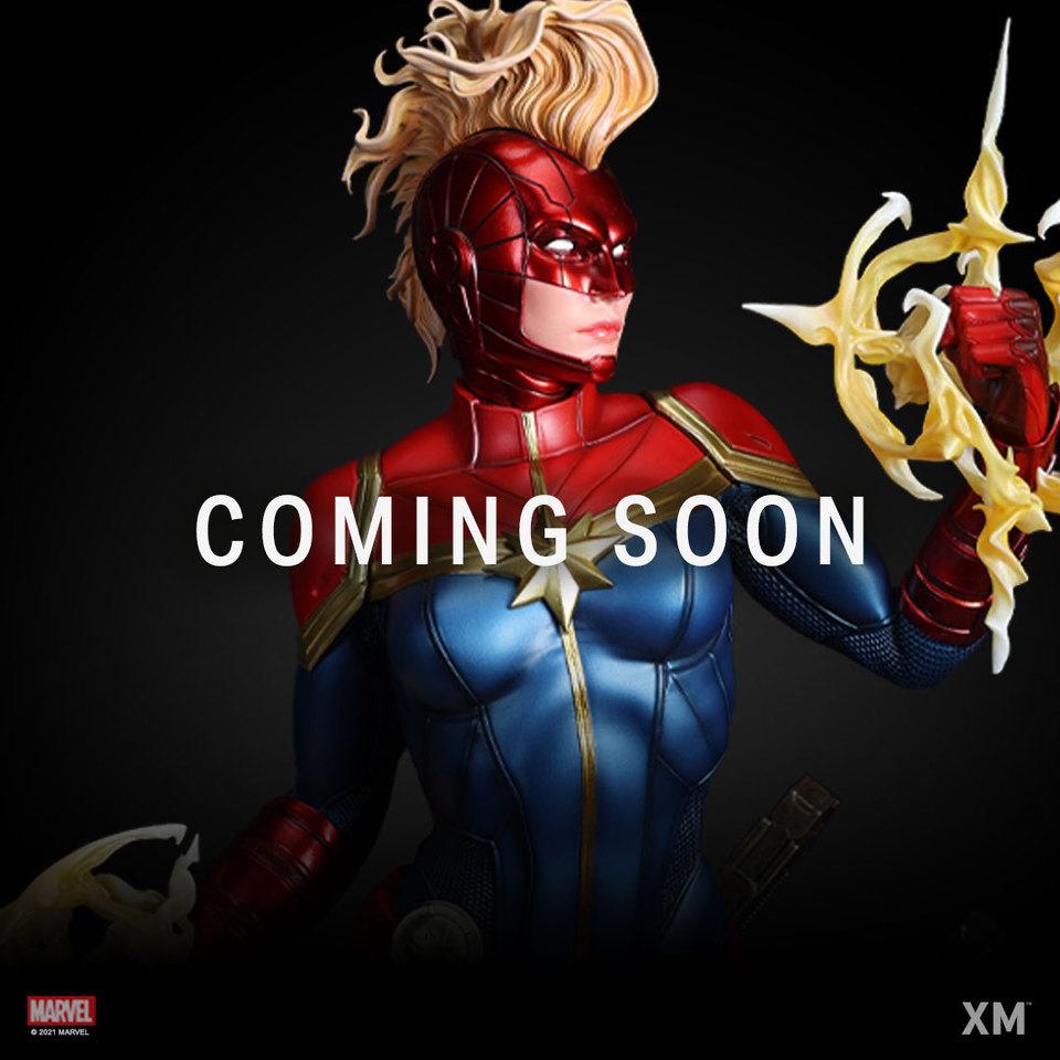 Premium Collectibles : Captain Marvel 1/4 Statue 186496950_288842525473bka3