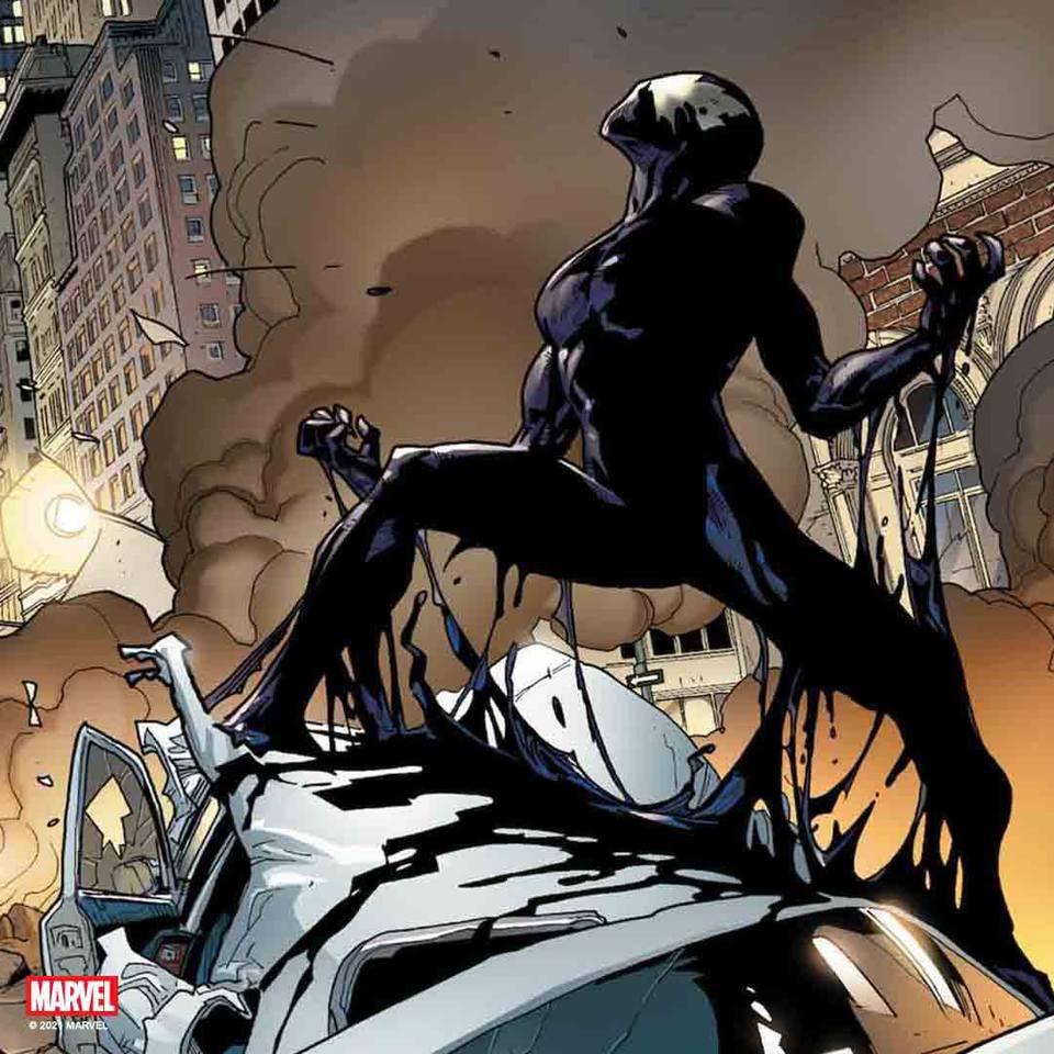 Premium Collectibles : Symbiote Spiderman 1/4 Statue 187248072_28908027878qwjmj
