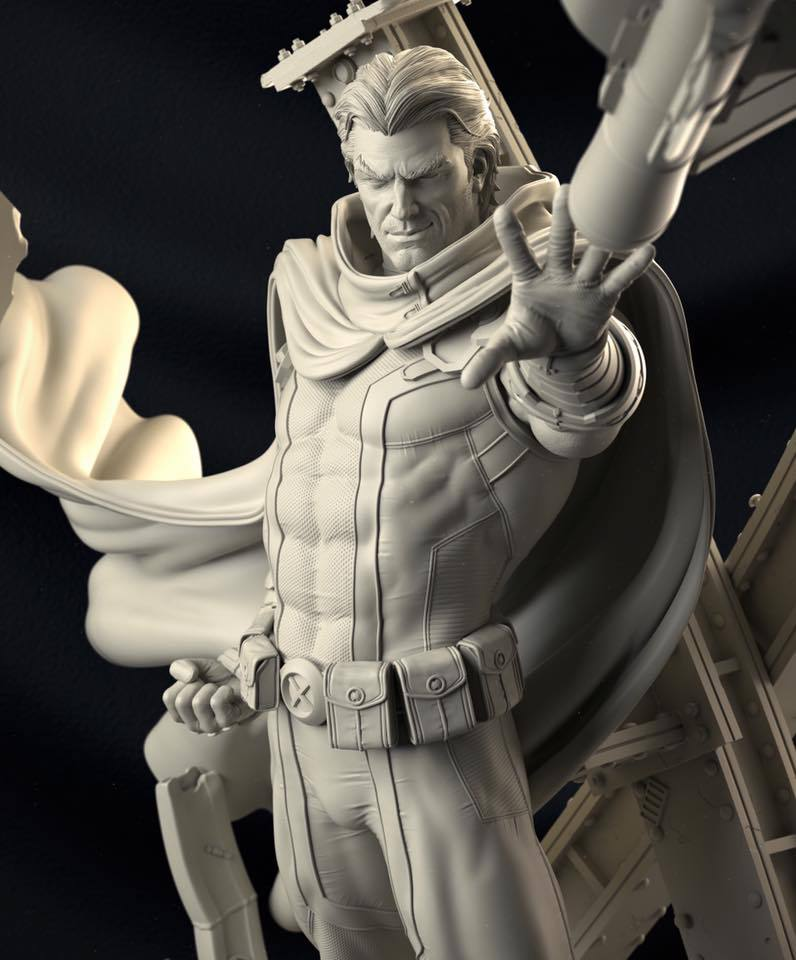 Premium Collectibles : Magneto White Version 18838864_133633997640pbuj8