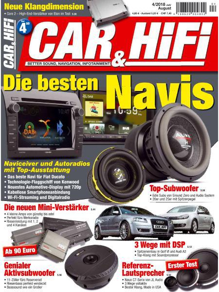 Car und Hifi Magazin Juli-August No 04 2018