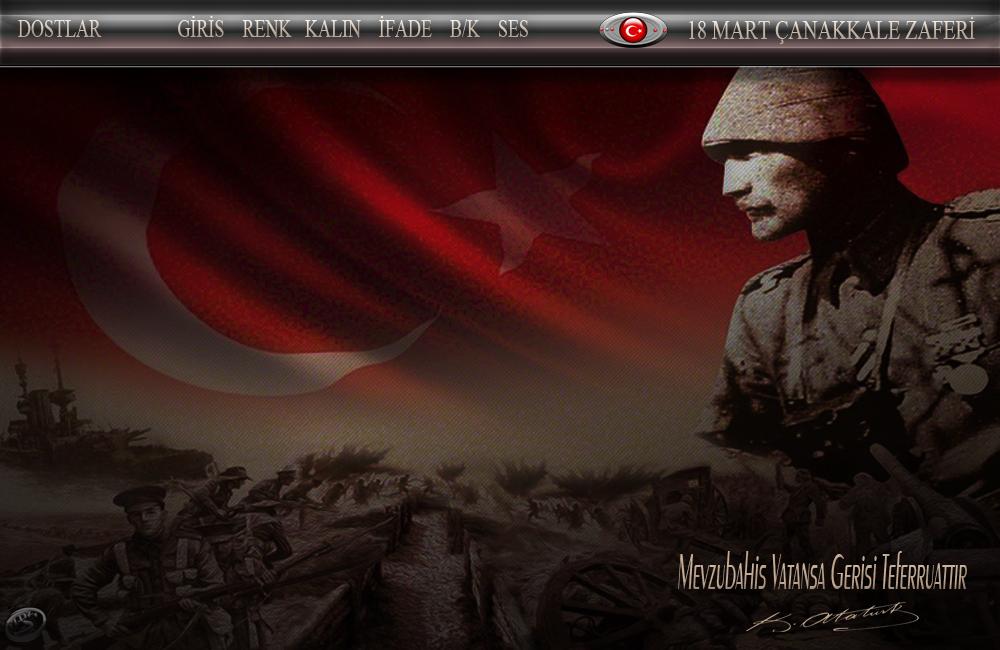 18 Mart Çanakkale Zaferi  Radyo Tema