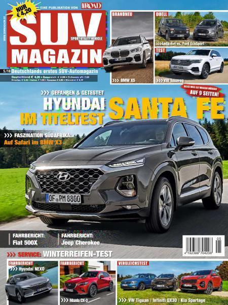 SUV-Auto Magazin Oktober-November No 05 2018