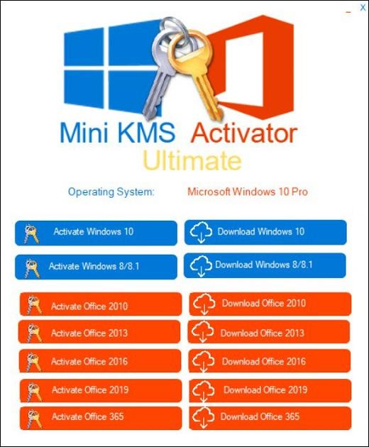 Mini-KMS-Activator Ultimate v1.3