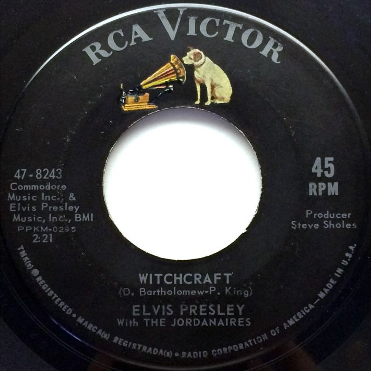 Bossa Nova Baby / Witchcraft 19639qqqu
