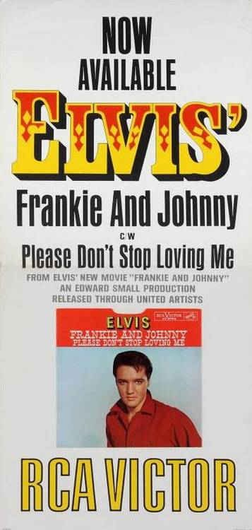 Frankie and Johnny / Please Don't Stop Loving Me 1966-12guwv