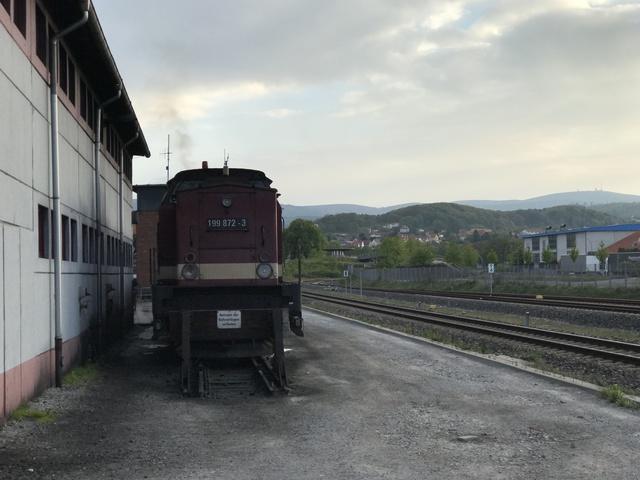 199 872-3 Wernigerode mit Brocken