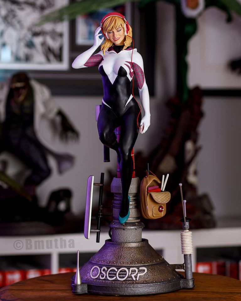 Premium Collectibles : Spider-Gwen 19zpv8