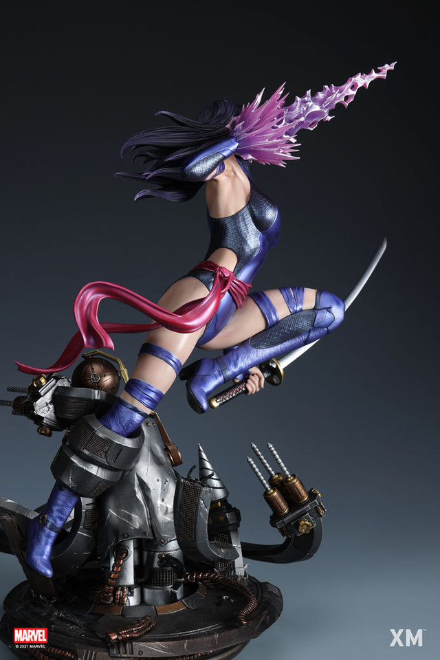 Premium Collectibles : Psylocke 1/4 Statue 1cbhk7c