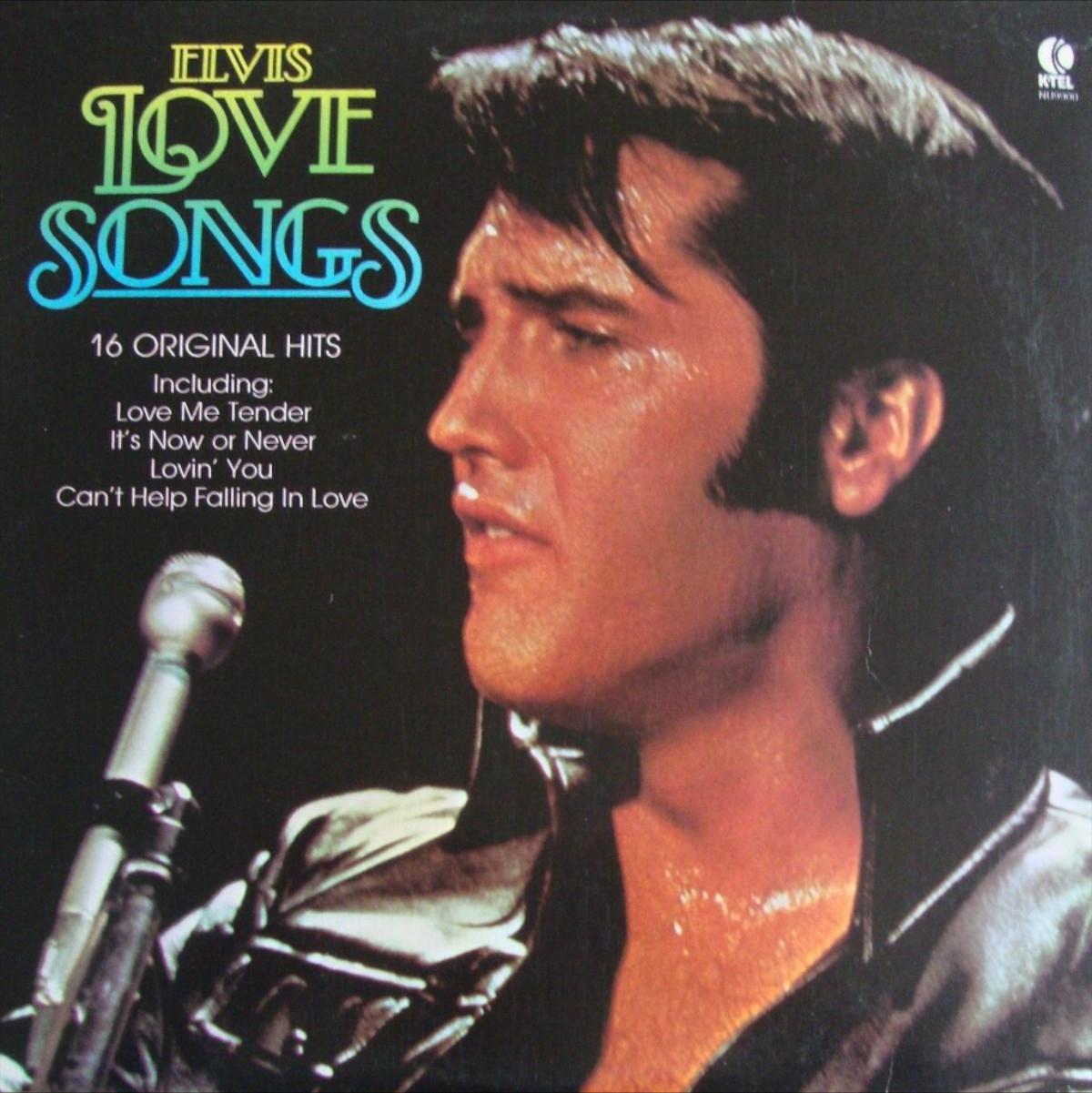 USA - ELVIS LOVE SONGS 1cmk0l