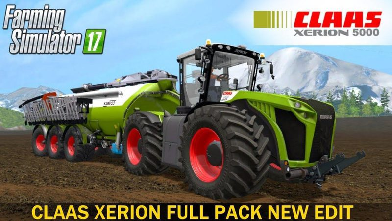 claas xerion full pack - dh - ..:: forbidden mods