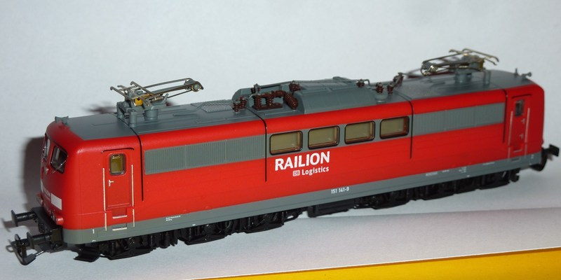 Piko 47200: 151 141-9  Railion DB Logistics 1kmswv