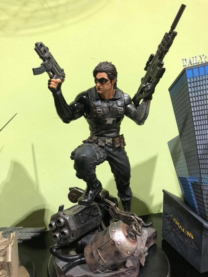 Premium collectibles : Winter Soldier  1lnsk3