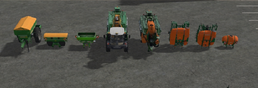 Amazone Sprayer Pack [FBM Team]