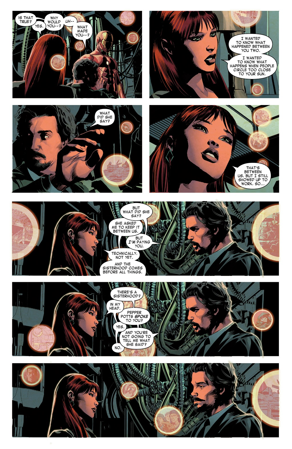 Mary jane watson dating tony stark