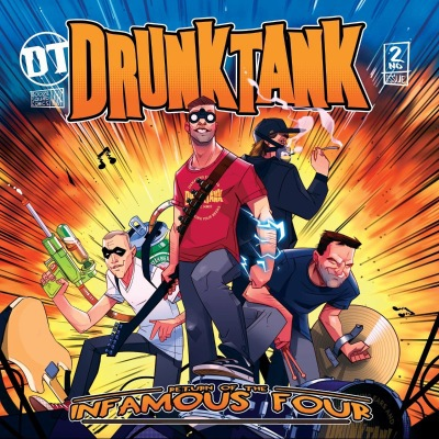 Drunktank - Return Of The Infamous Four (2019)