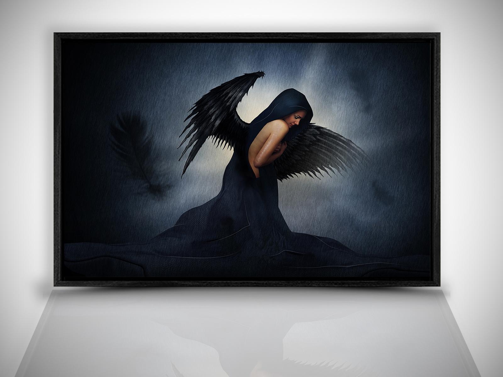 Deko-Bilder & -Drucke mit Rahmen und Engel-Motiv günstig kaufen | eBay