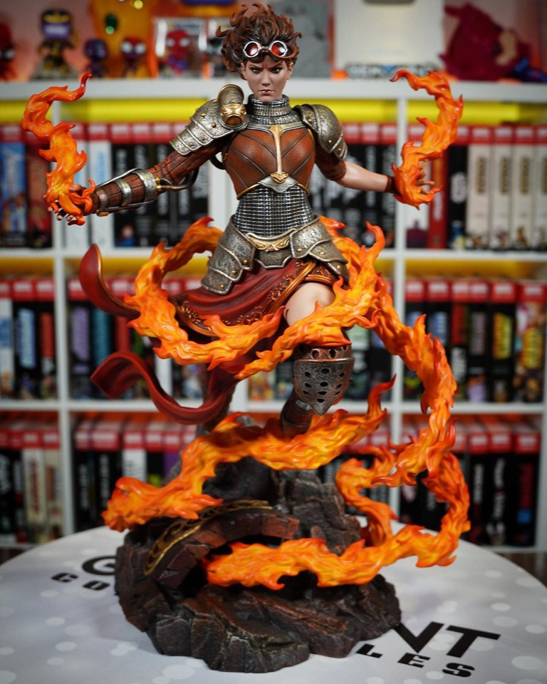 Premium Collectibles : MTG - Chandra Nalaar 1/4 Statue 1qokex
