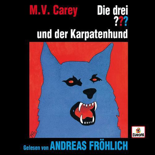 Die drei Fragezeichen - Andreas Fröhlich liest ...und der Karpatenhund (2019)