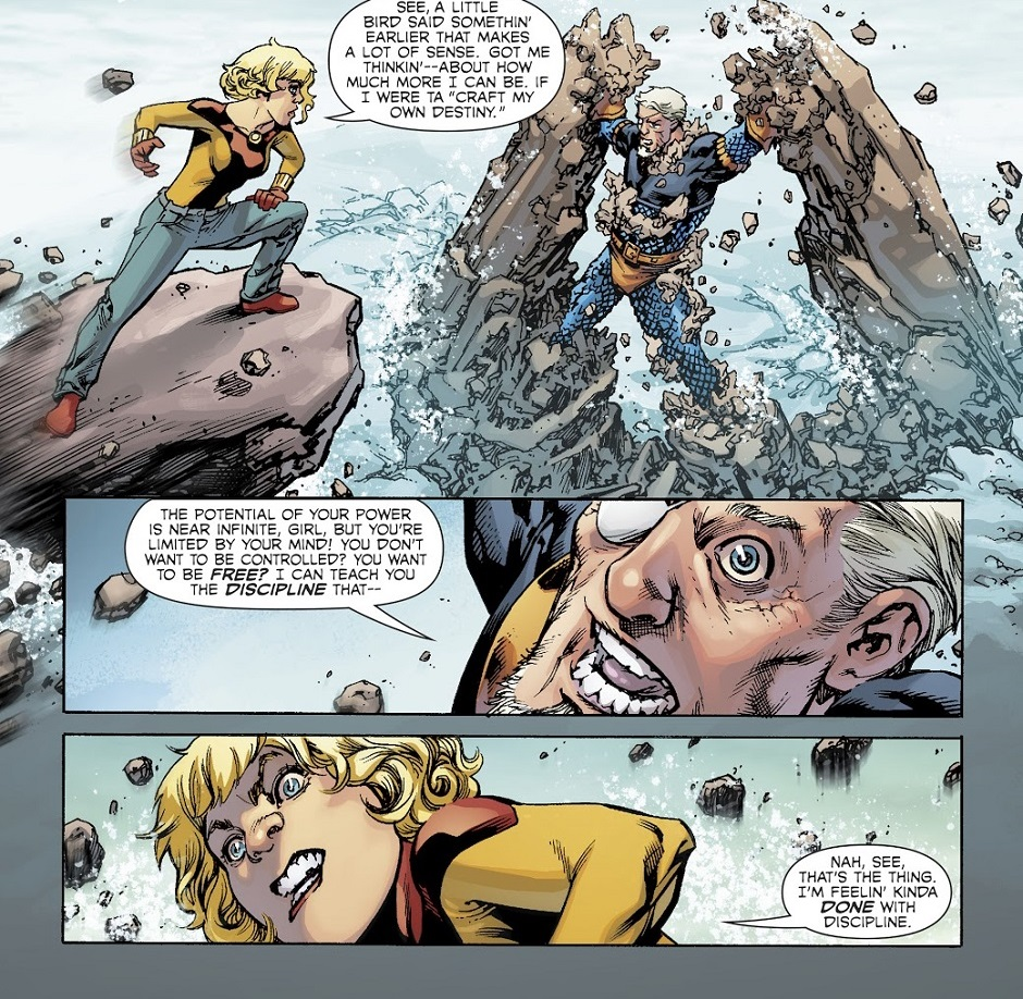 Gaia Webcomic tales from the dark multiverse: teen titans  - scans_daily