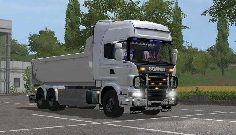 Ls17 Scania V8 Lkw
