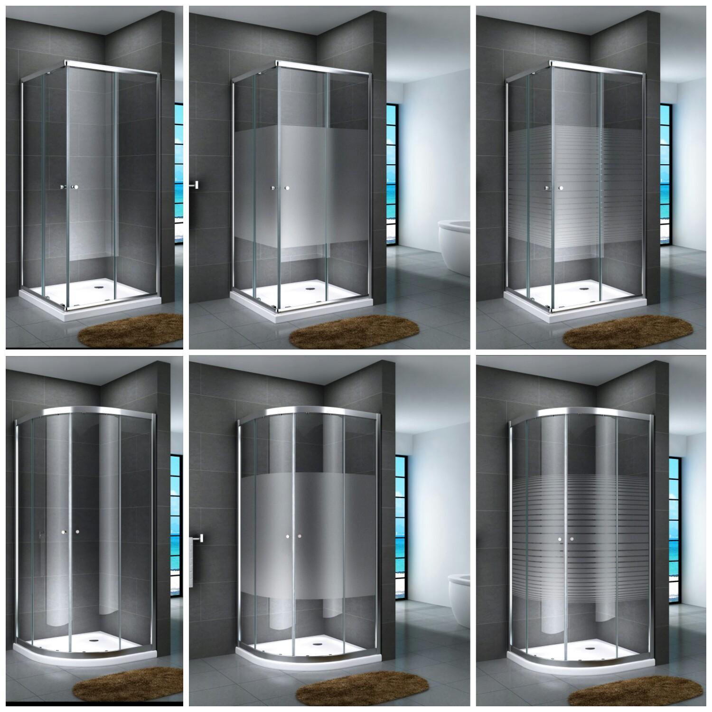 duschkabine eckdusche viertelkreis duschabtrennung glas. Black Bedroom Furniture Sets. Home Design Ideas