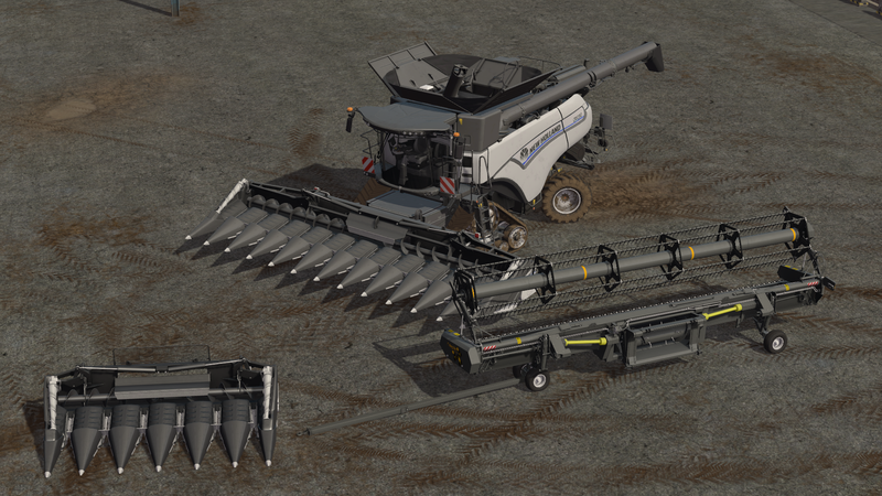 [FBM Team] New Holland CR1090 Pack MoreRealistic
