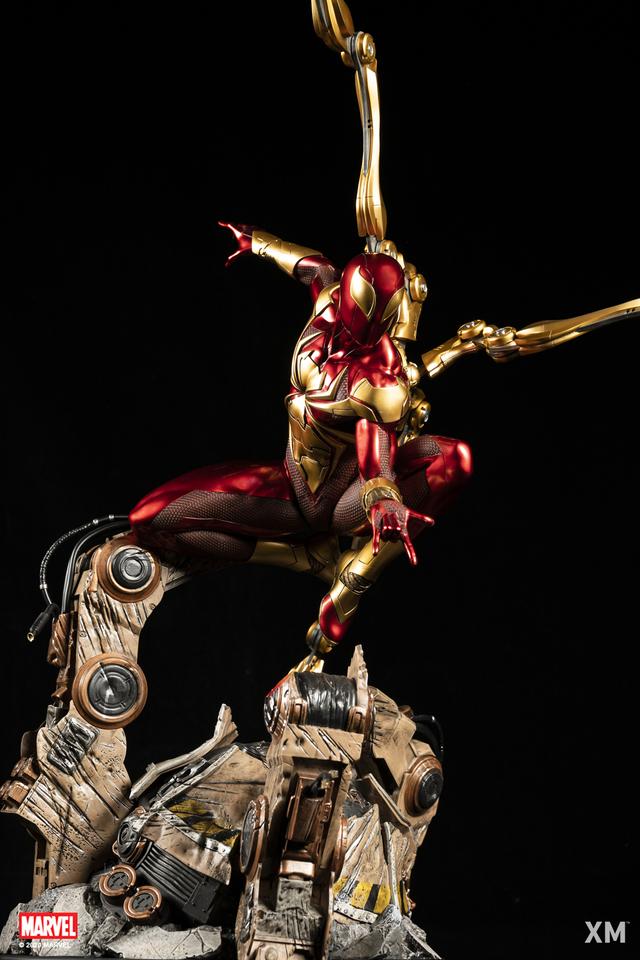 Premium Collectibles : Iron-spiderman** 1zij4d