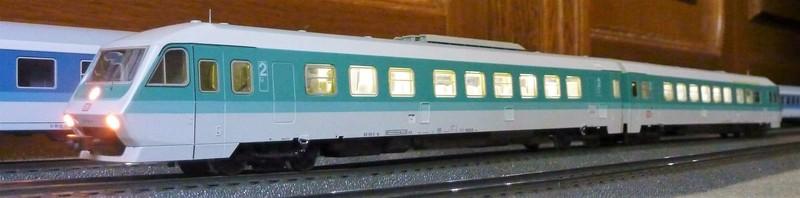 Märklin 3476 BR 610 Pendolino mit Umrüstplatinen auf HLA und mfx Decoder umgerüstet 1zyju3