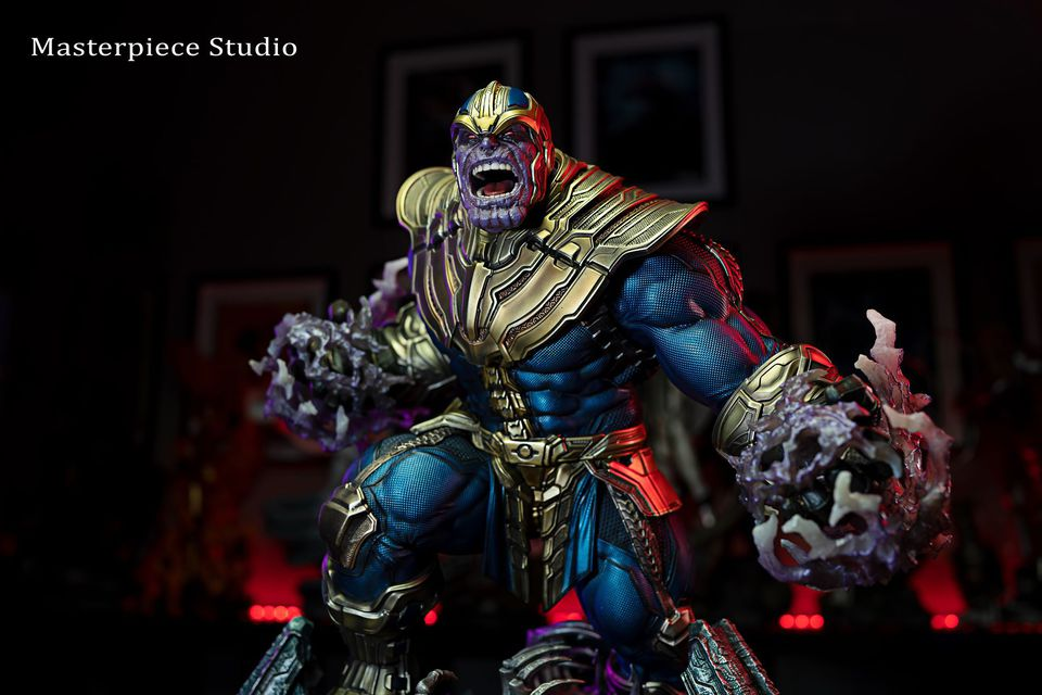 Premium Collectibles : Thanos and Lady Death 200j2f