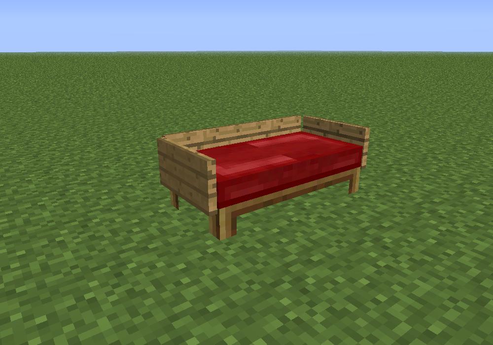 sofa bei minecraft bauen. Black Bedroom Furniture Sets. Home Design Ideas