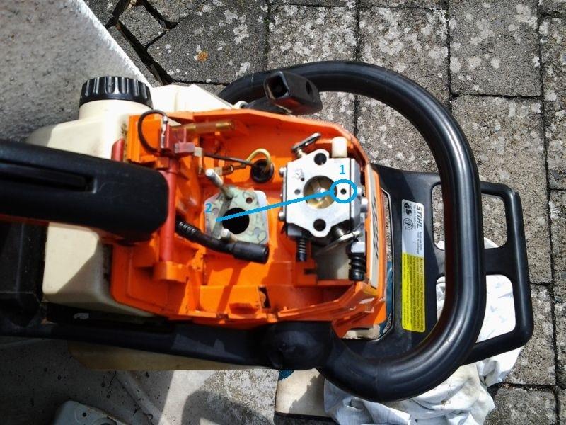 Top Stihl 021 Vergaser einstellen ohne H Schraube • Motorsägen-Portal BU93
