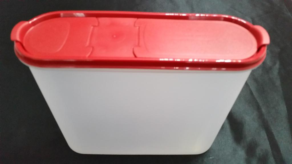 tupperware eidgenosse 4 liter rot vorratsbeh lter beh lter eidgenosse rar neu ov ebay. Black Bedroom Furniture Sets. Home Design Ideas