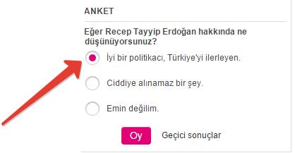 Alman Basını Tayyip Erdoğan İçin Anket Düzenledi