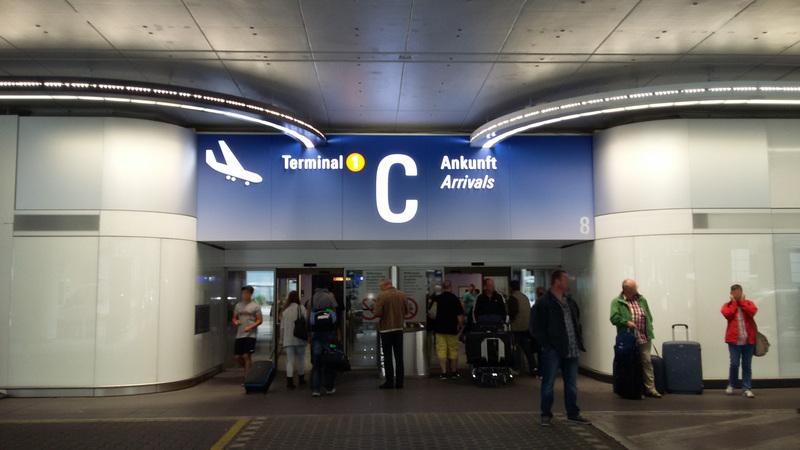 Frankfurt Flüge Ankunft