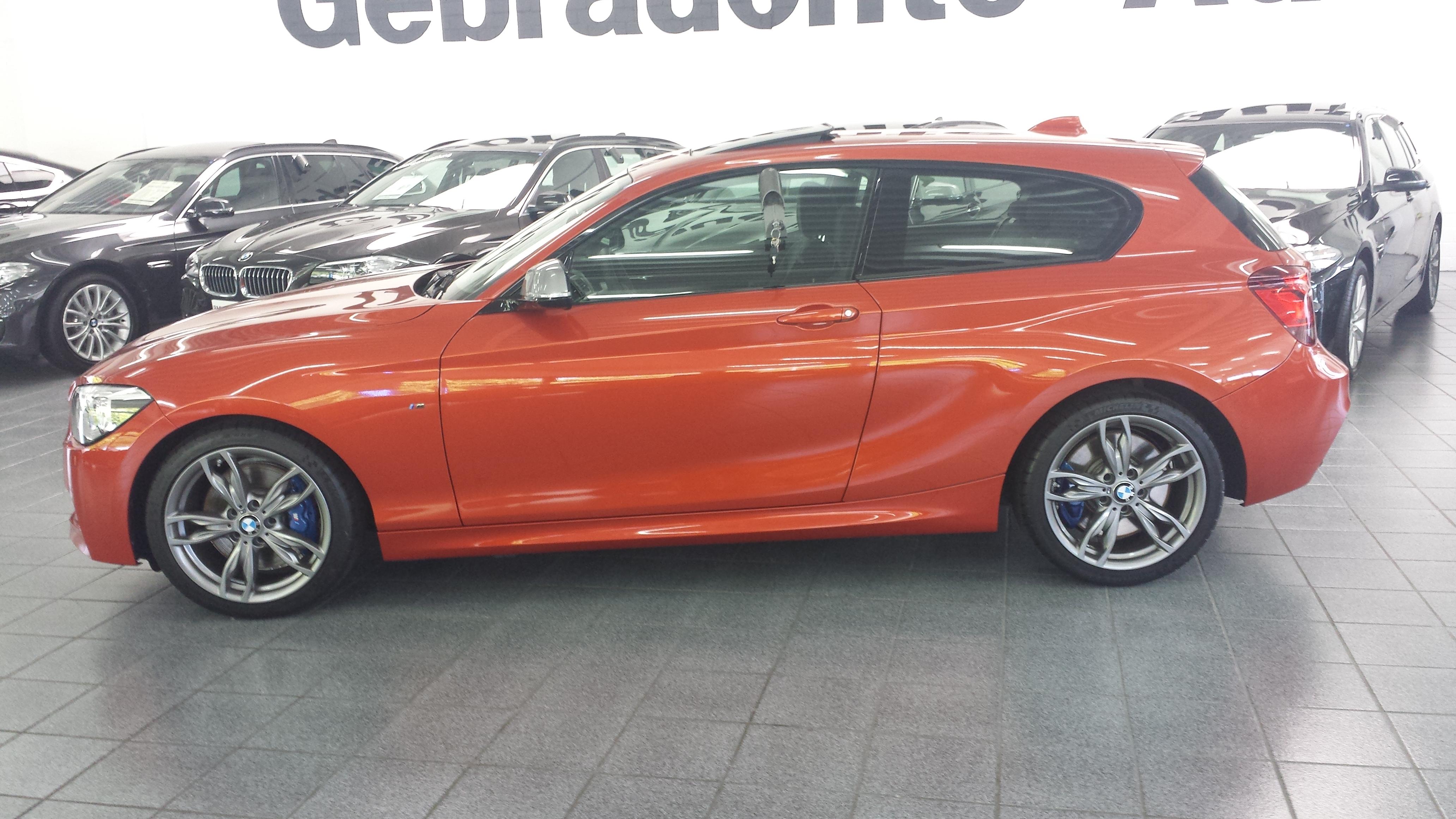 BMW 1er F20 F21 Valencia Orange metallic 9270626 1x PDC SENSOR hinten vorne