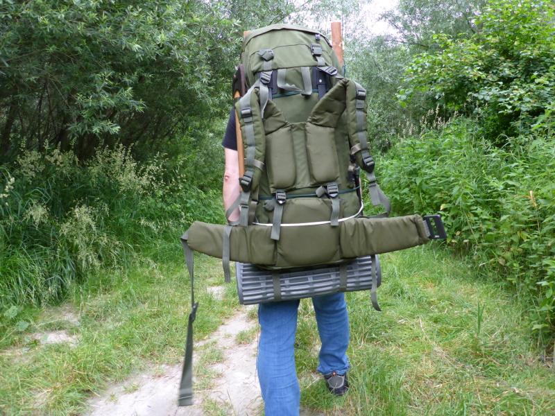 Einfachste Rucksack Trage, Pack Frame - Bushcraft und Survival ...