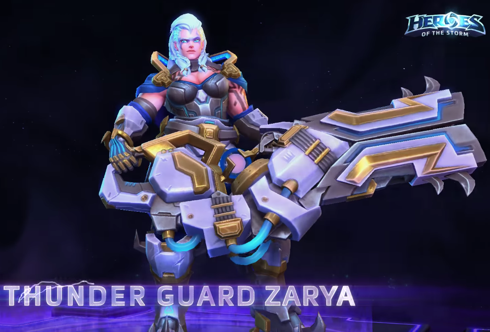 Zarya could really use some good looking skins. : Overwatch
