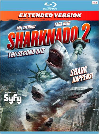 Köpekbalığı İstilası 2 - Sharknado 2: The Second One (2014) türkçe dublaj korku filmi indir