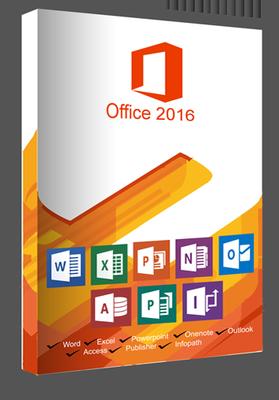 Microsoft Office Pro Plus 2016 X64 VL v.16.0.4849.1000 Mai 2019
