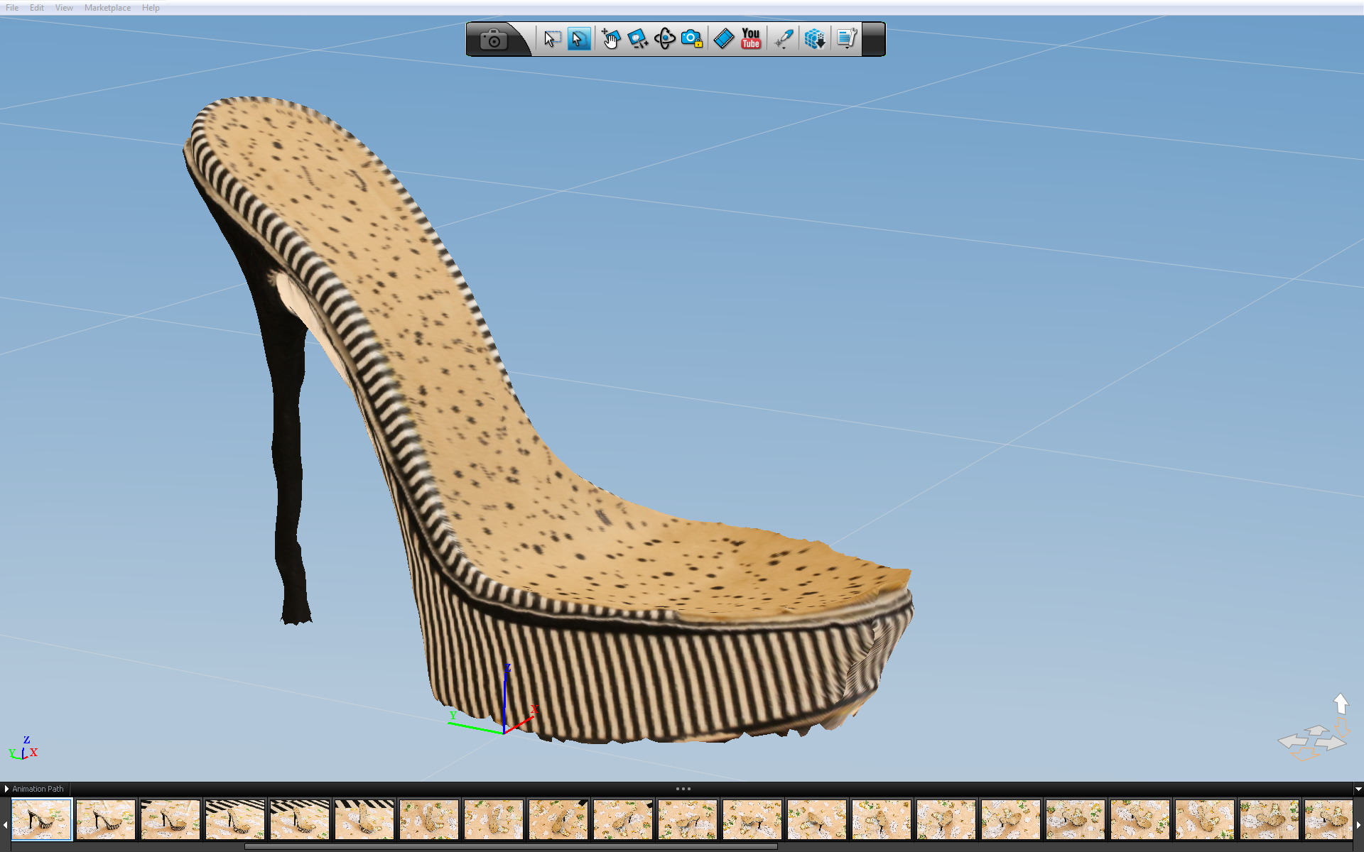 b5d5ece9c0 3D Printed High Heels - Welcome to the SeeMeCNC Community