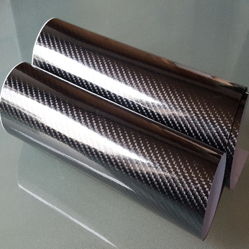 5d hochglanz carbonfolie 50cm x 152cm auto folie gl nzend. Black Bedroom Furniture Sets. Home Design Ideas