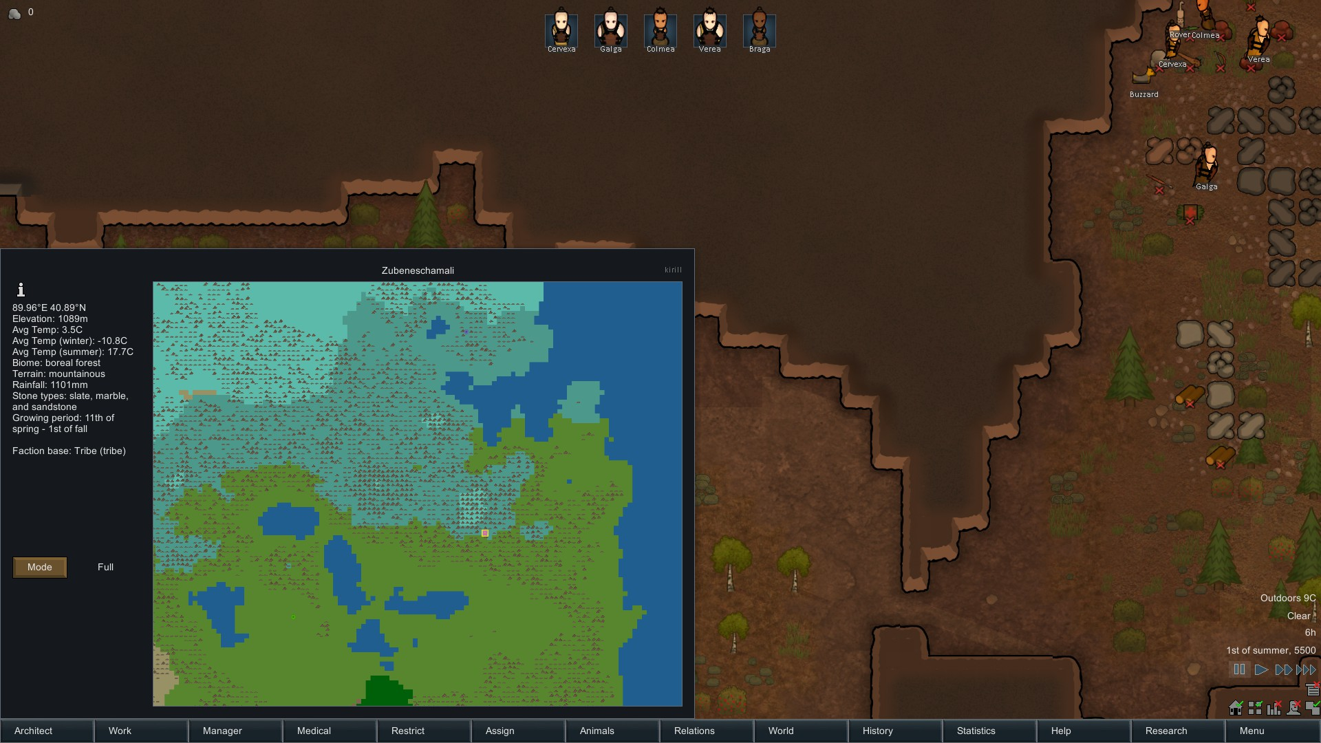 Awesome mountain map rimworld heres the seedmap size 300x225 gumiabroncs Gallery