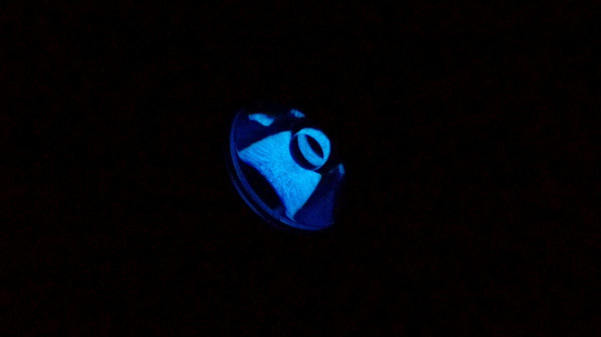 Convoy S2+ Blueline [Linse, leuchtender Schalter, Warmweiß ...