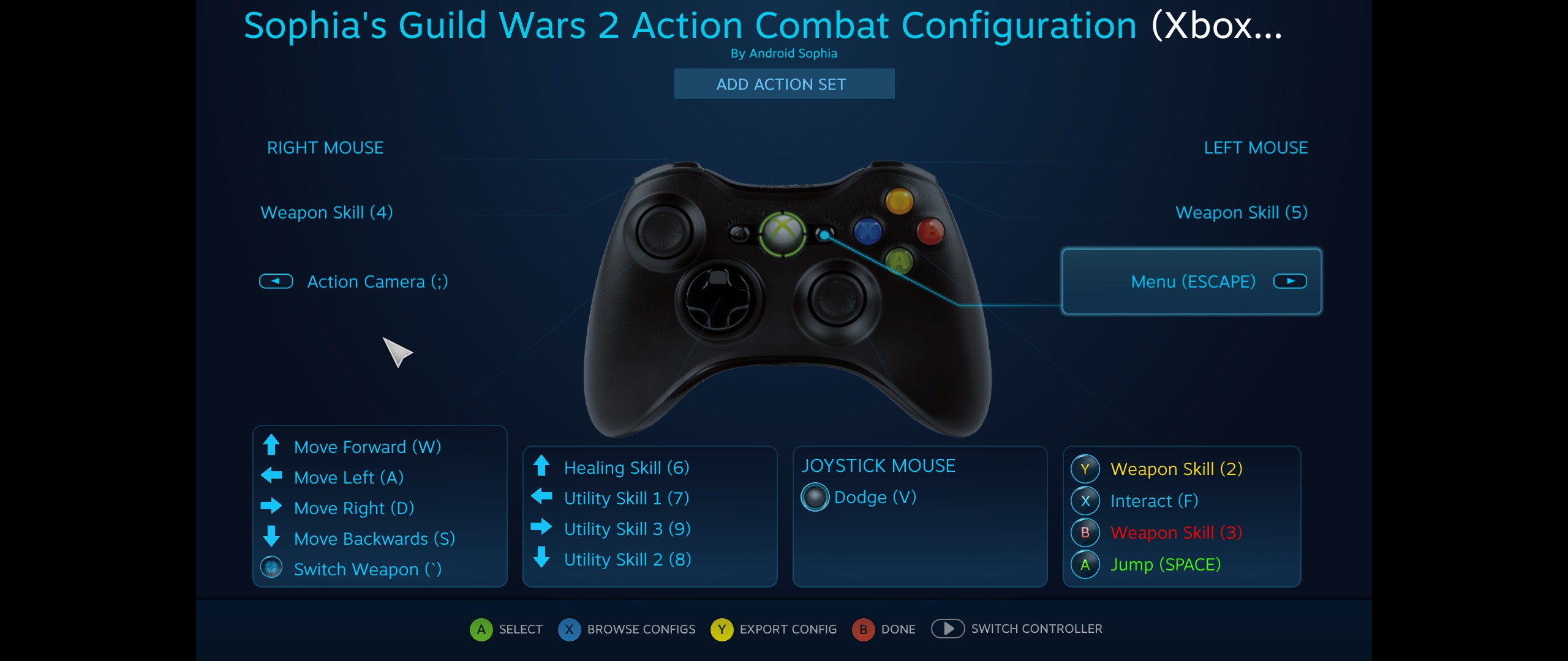 Steam adds controller support for X360, XB1, Xinput, 3rd