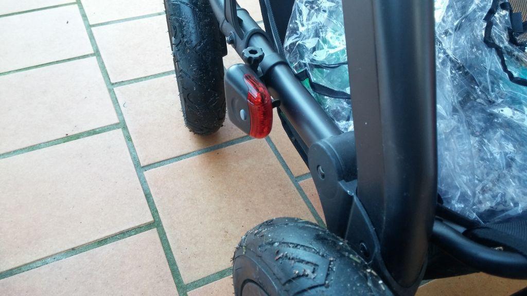 Pimp my Babyride. Kinderwagen mit Beleuchtung ;) | Taschenlampen Forum