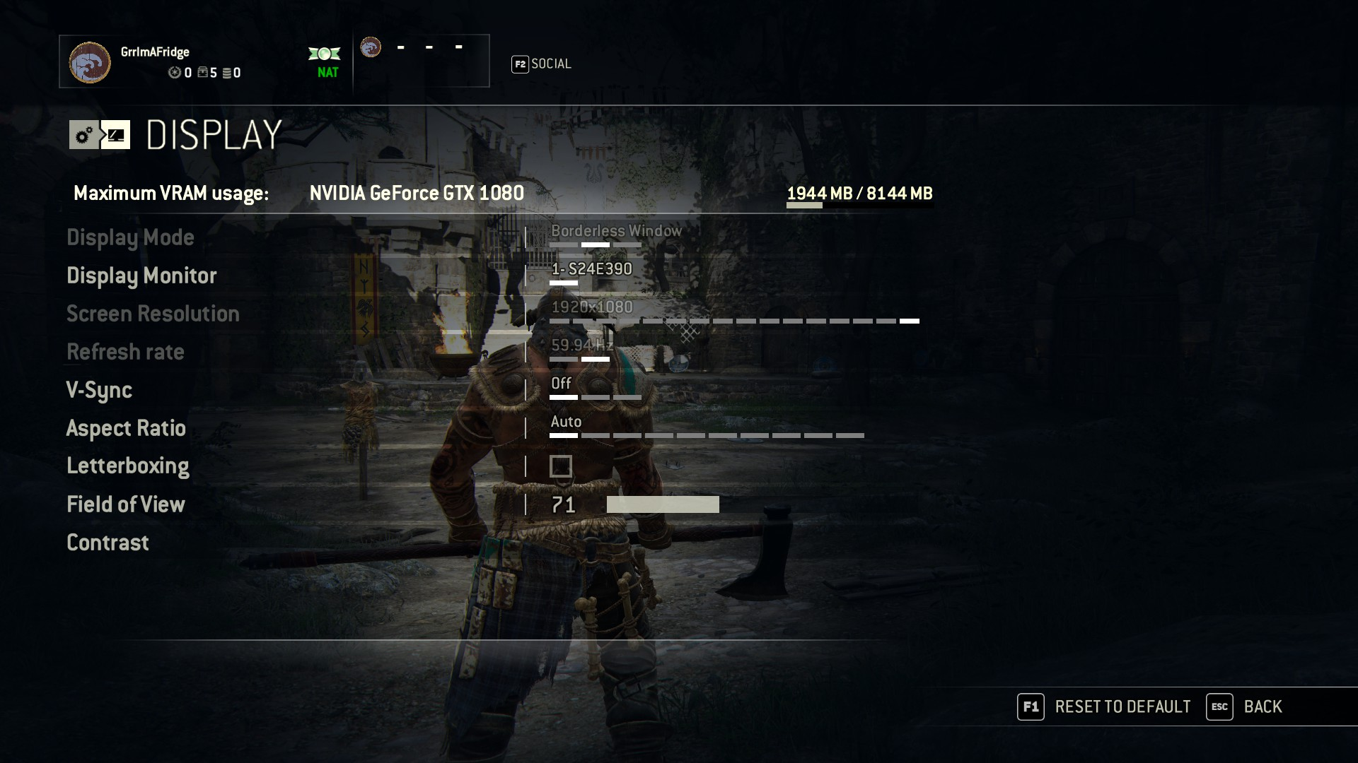 For Honor PC performance thread | NeoGAF